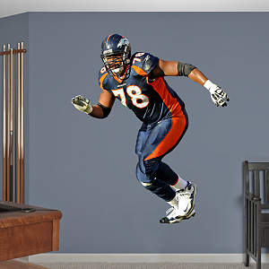 Ryan Clady Fathead Wall Decal